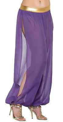 Harem Pants Arabian Belly Dancer Halloween Sexy Adult Costume Accessory 3 COLORS