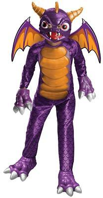 Spyro Skylanders Academy Purple Dragon Fancy Dress Up Halloween Child