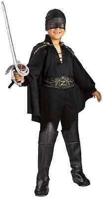Zorro Bandanna Masked Bandit Spanish Hero Fancy Dress Up Halloween Child - Zorro Dress