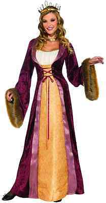 Castle Halloween Costumes (Milady Castle Medieval Renaissance Lady Fancy Dress Up Halloween Adult)