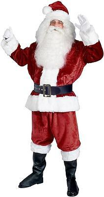 Imperial Plush Santa Claus Christmas Holiday Fancy Dress Deluxe Adult Costume