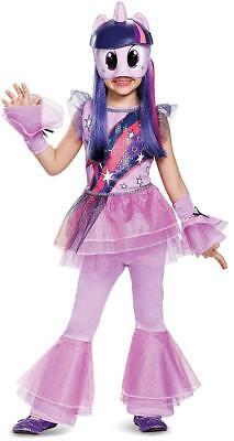 Twilight Sparkle My Little Pony Movie Fancy Dress Up Halloween Child Costume ()