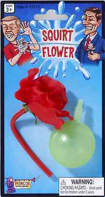 Squirt Flower Clown Circus Gag Joke Toy Prop Novelty Halloween Costume Accessory