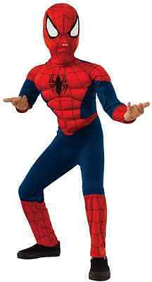 Ultimate Spider-Man Marvel Superhero Fancy Dress Halloween Deluxe Child - Halloween Ultimate Costumes