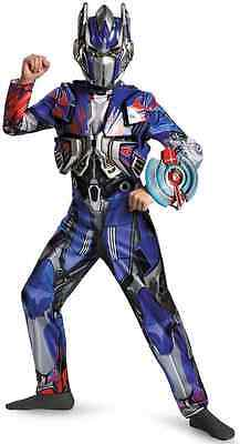 Optimus Prime Deluxe Transformers Robot Fancy Dress Up Halloween Child Costume (Optimus Prime Transformer Halloween Costume)