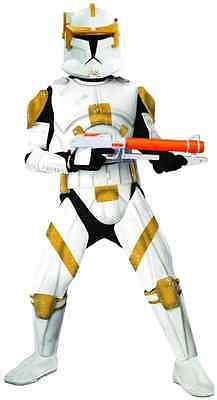 Commander Cody Star Wars Clone Trooper Fancy Dress Up Halloween Adult (Commander Cody Halloween Kostüm)