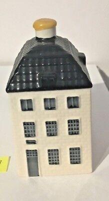 KLM Blue Delft House - Exclusive Miniature No. 55 - 2007 - EMPTY