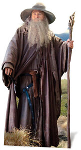 Gandalf-The-Hobbit-LIFESIZE-CARDBOARD-CUTOUT-Standee-Standup-Ian-McKellen-wizard