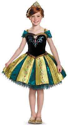 Anna Coronation Tutu Prestige Frozen Disney Princess Halloween Child - Coronation Anna Kostüm