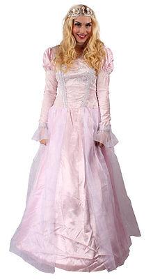 Prinzessin Kleid Damen rosa Märchen Rokoko Fee Königin Kostüm Karneval Fasching