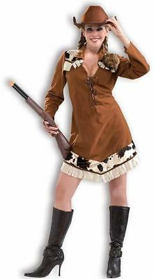Annie Oakley Cowgirl Wild West Sheriff Fancy Dress - Wild West Dress Up