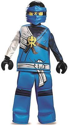 Jay Prestige Lego Ninjago Ninja Toy Fancy Dress Halloween Deluxe Child Costume](Blue Jay Halloween Costume)