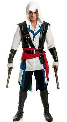 Cutthroat Pirate Man Assassin's Creed Fancy Dress Halloween - Assassin Creed Halloween-kostüm