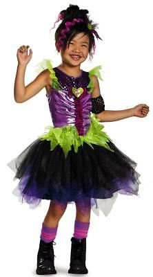 Pop Rock Diva 1980's Retro Star Girl Fancy Dress Up Halloween Child Costume