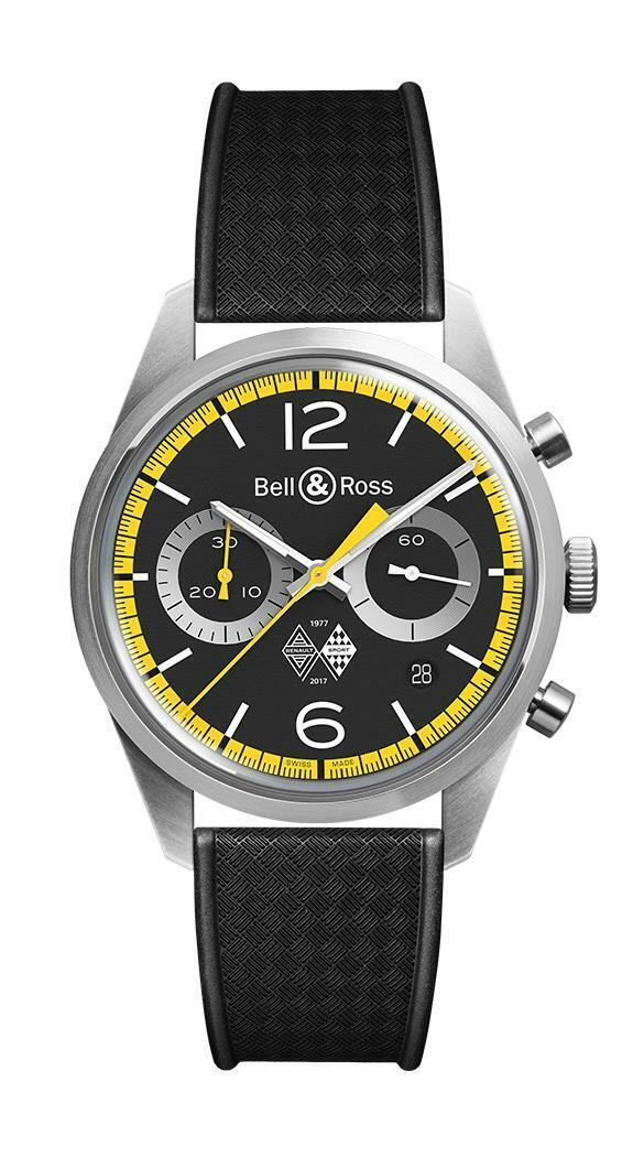Bell & Ross Renault Sport 40th Anniversary 41mm Men's Watch BRV126-RS40-ST/SRB - watch picture 1