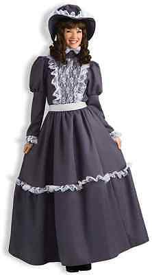 Prairie Lady Western Victorian Girl Country Fancy Dress Halloween Adult Costume](Country Girl Halloween Costumes)
