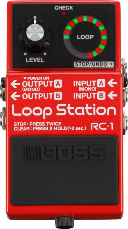NEW Boss RC-1 Loop Station PEDAL Effects Electric Guitar Looper Stompbox