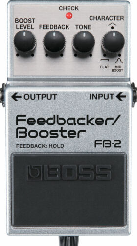 NEW OLD STOCK Boss FB-2 Feedback/Booster Effects Pedal Free USA Shipping