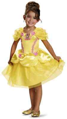 Belle Toddler Disney Princess Beauty Beast Fancy Dress Halloween Child Costume