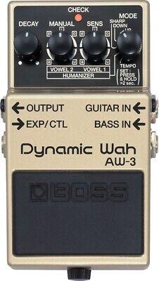 Boss AW-3 Dynamic Wah Guitar Pedal Aw 3 Dynamic Wah Guitar