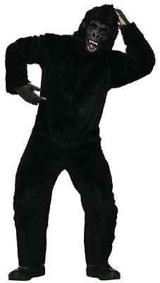 Gorilla Suit Ape Monkey Animal Mascot Fancy Dress Up Halloween Adult Costume - Gorilla Suit Halloween