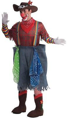 Rodeo Clown Circus Carnival Hobo Fancy Dress Up Halloween Adult Costume