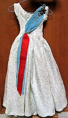 Vintage Mme Alexander 1950s Cissy QUEEN Tagged Dress Gown~ LOVELY!