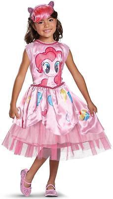 Pinkie Pie Classic My Little Pony Movie Fancy Dress Up Halloween Child Costume