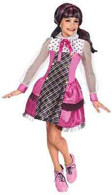 Draculaura Vampire Monster High Mattel Nick Fancy Dress Halloween Child Costume - Monster High Vampire Costume