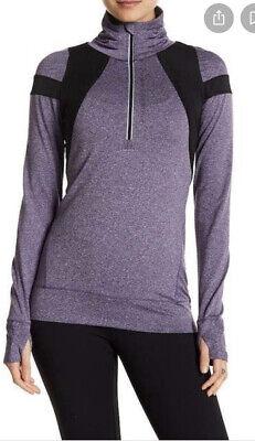 HPE Clothing Activewear human performance Engineering Stretch Jacket Uv M Purple