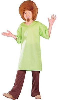 Shaggy Rogers Scooby-Doo Cartoon 60's Hippie Fancy Dress Halloween Child - Shaggy Rogers Costume