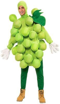 Green Grapes Food Fruit Foodies Fancy Dress Up Halloween Unisex Adult Costume](Halloween Costume Grapes)