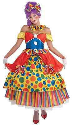 Belle of Big Top Clown Girl Circus Polka Dot Fancy Dress Halloween Adult - Big Top Circus Kostüm