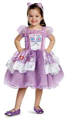 Share Bear Deluxe Tutu Care Bears Fancy Dress Up Halloween Toddler Child Costume