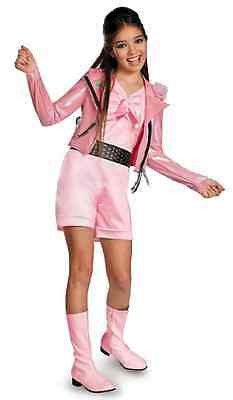 Lela Biker Deluxe Teen Beach Movie Pink Fancy Dress Up Halloween Child Costume
