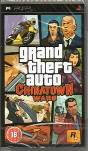 GRAND THEFT AUTO: CHINATOWN WARS GAME (china town) PSP ~ NEW / SEALED