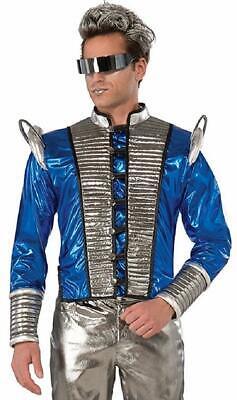Futuristic Jacket Coat Robot Space Fancy Dress Up Halloween Costume Accessory](Halloween Costumes Robot)