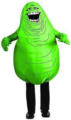 Slimer Inflatable Ghostbusters Ghost Fancy Dress Halloween Deluxe Child Costume](Slimer Kids Costume)