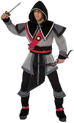 Stealth Warrior Male Assassin's Creed Fancy Dress Up Halloween Adult Costume - Male Warrior Costume