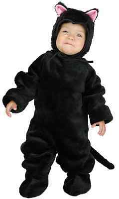 Little Black Dress Halloween (Little Cat Black Pet Animal Kitten Kitty Fancy Dress Up Halloween Child Costume)