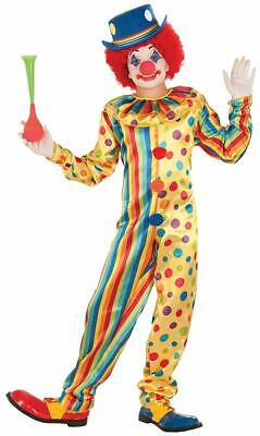 Spots the Clown Boy Circus Carnival Fancy Dress Up Halloween Child Costume](Kids Circus Costumes)
