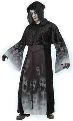 Forgotten Souls Spirit Ghost Grim Reaper Fancy Dress Up Halloween Adult Costume
