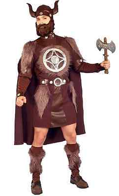 Thor Viking Warrior Man Scandinavian Norse Fancy Dress Halloween Adult Costume