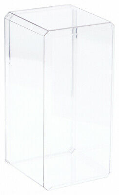 Pioneer Plastics Acrylic Beveled Edge 8 Doll Display Case 4.375 X 4.125 X 9