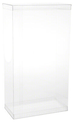 Dollsafe Deluxe Folding Case W Acrylic Lids For 15-16 Dolls 9.5 X 5 X 17