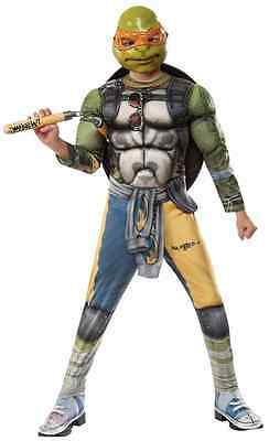 Michelangelo Teenage Mutant Ninja Turtles TMNT Halloween Deluxe Child Costume](Baby Tmnt Halloween Costumes)