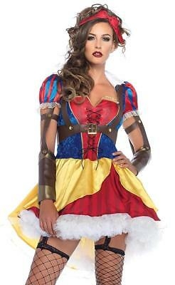 Rebel Costumes (Rebel Snow White Fairy Tale Princess Fancy Dress Halloween Sexy Adult)