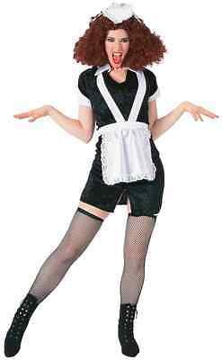 Magenta Rocky Horror Picture Show Drag Fancy Dress Up Halloween Adult Costume
