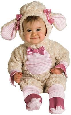Lucky Lil' Lamb Sheep Animal Fancy Dress Halloween Toddler Baby Child Costume