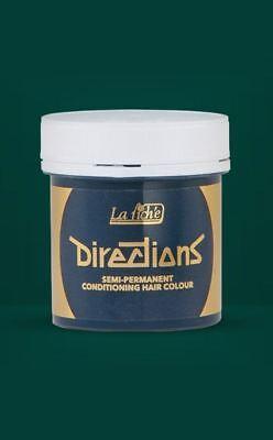 Alpine Dark Green Hair Dye Colour Cruelty Free Semi Permanen (Dark Green Hair Dye)